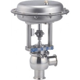 Hygienic 2-Port Control Valve for CIP (Cleaning In Place) applications