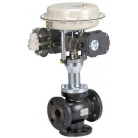 3-port Mixing / Diverting Control Valve for Flow