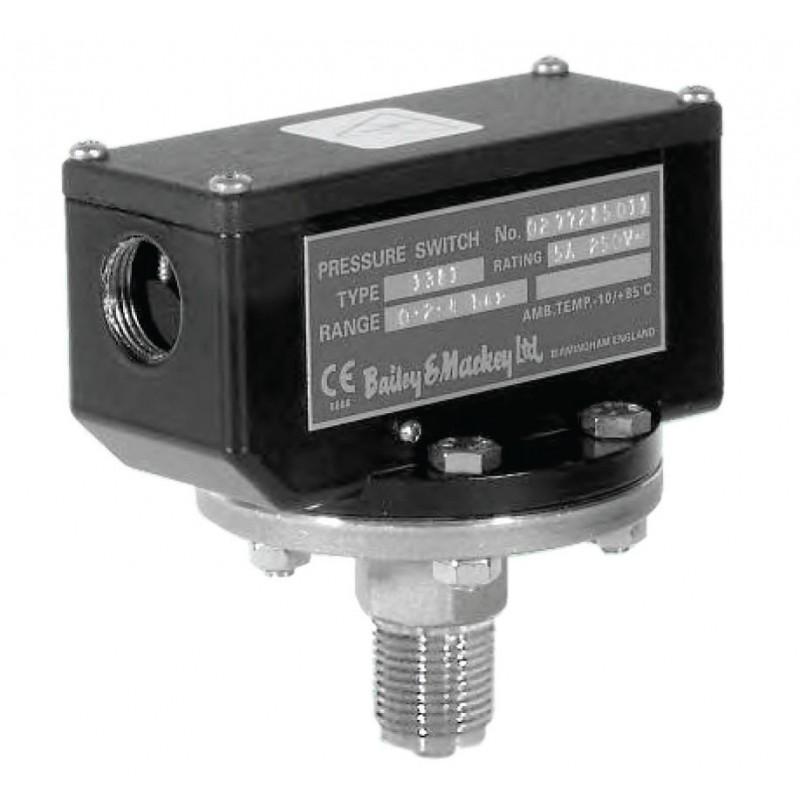 Bailey mackey low range pressure switch type