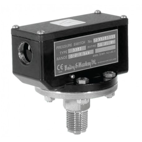 Bailey & Mackey Twin Circuit Pressure Switch Type 2381